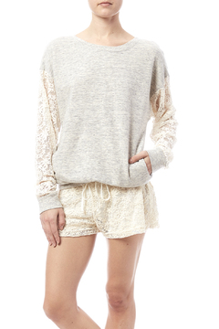 Hardtail Forever Forever Lace Sleeve Pullover - Product List Image
