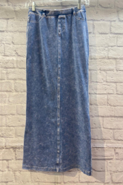 Hardtail Jean Style Maxi with Back Insert - Product Mini Image