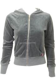 Hard Tail Hardtail Junior Velour Hoodie V-844 - Product Mini Image