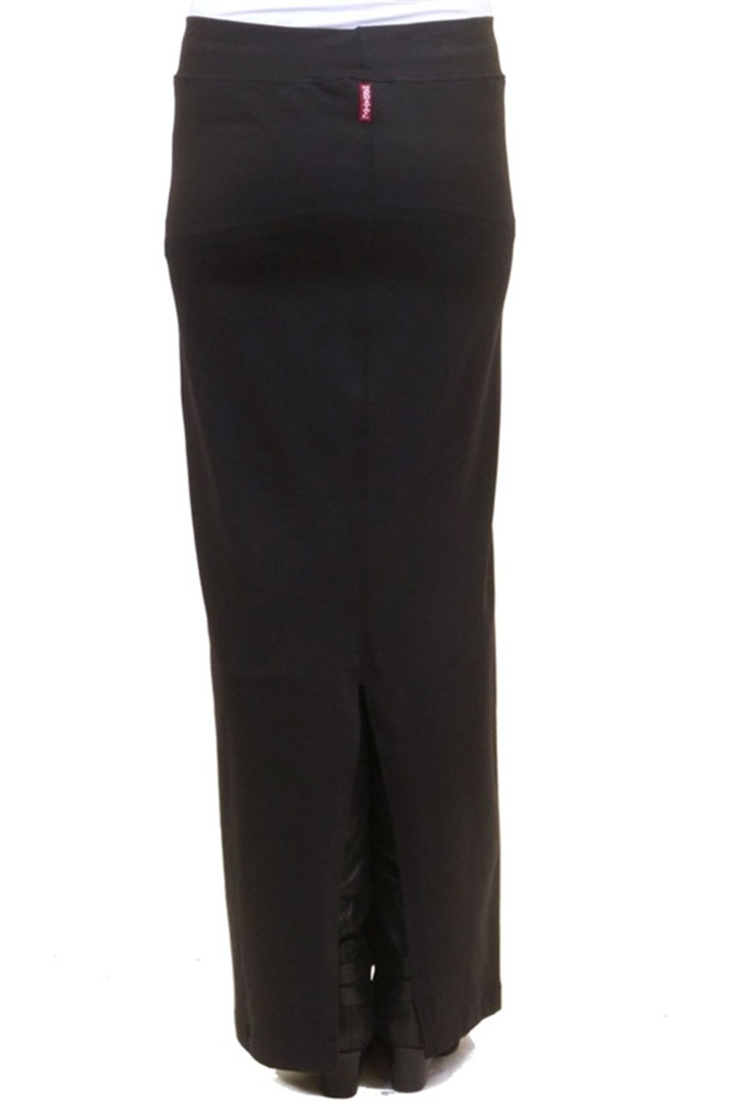 Hard Tail Hardtail Long Cotton Skirt W-544 - Side Cropped Image