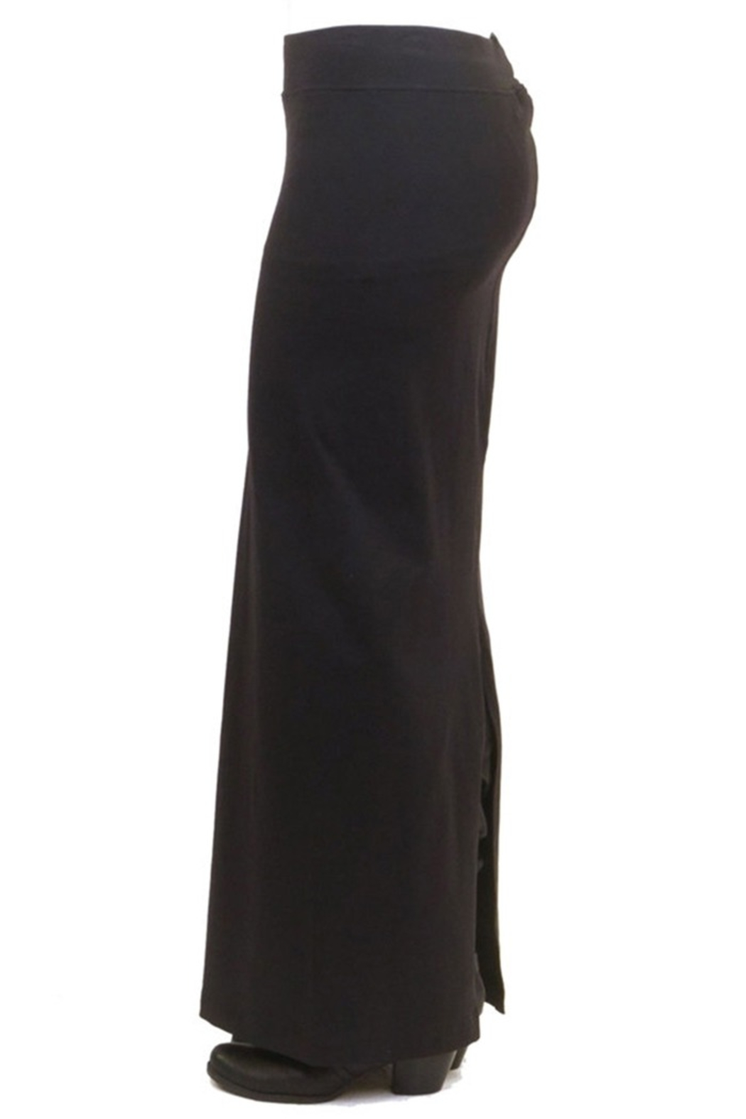 Hard Tail Hardtail Long Cotton Skirt W-544 - Front Full Image