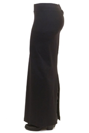 Hard Tail Hardtail Long Cotton Skirt W-544 - Front full body