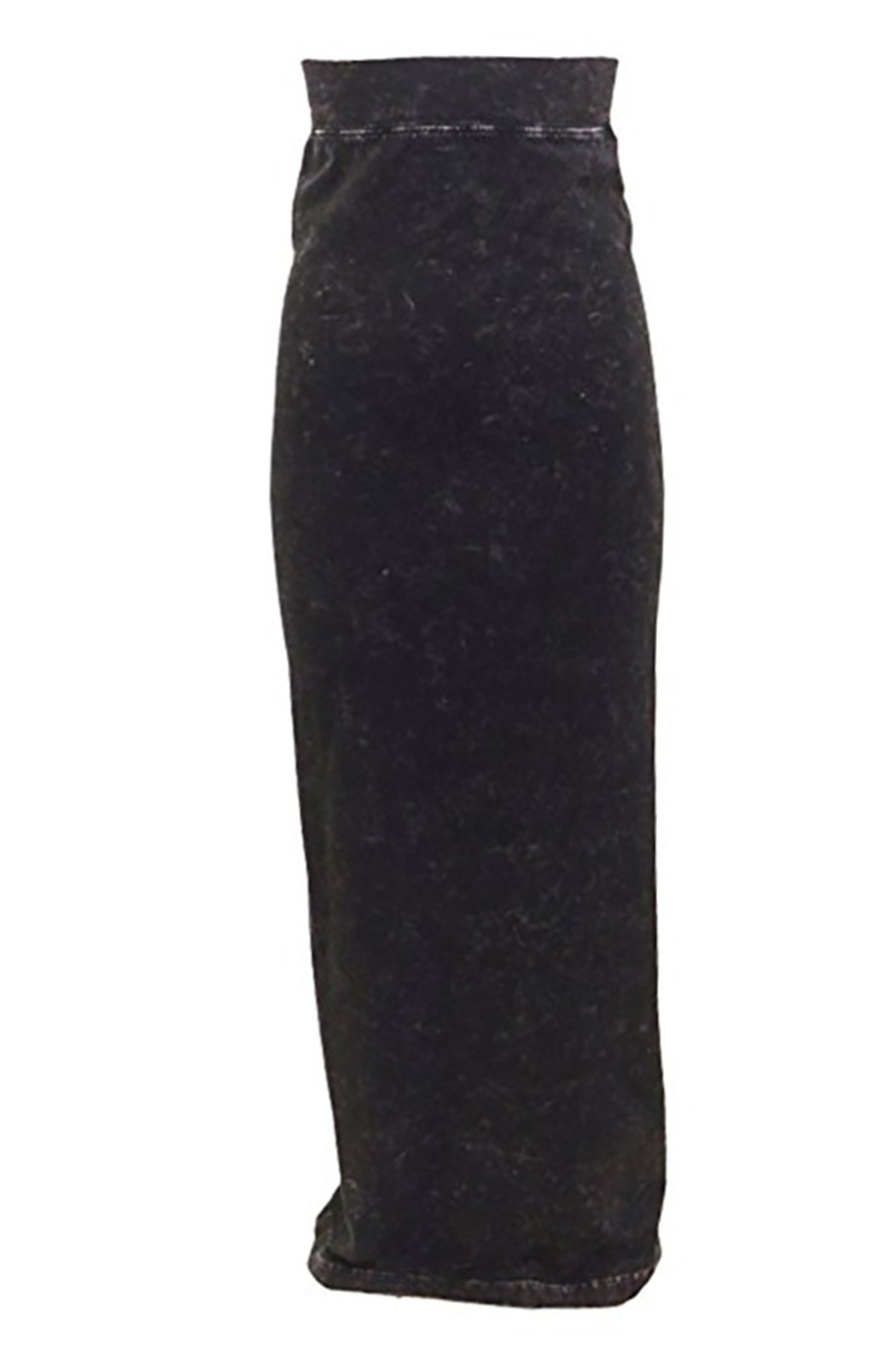 Hard Tail Hardtail Long Cotton Skirt W-544 - Front Cropped Image