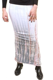 Hard Tail Hardtail Long Cotton Skirt W-544 - Front cropped