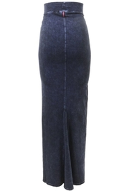 Hard Tail Hardtail Long Inset Pencil Skirt (W-662) - Front full body
