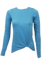 Hard Tail Hardtail Long Sleeve Twist Tee PJ-47 - Front cropped