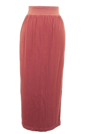 Hard Tail Hardtail Luxe Midi Column Skirt CREP-29 - Product Mini Image