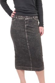 Hard Tail Hardtail Midi Denim Pencil Skirt MWJ-105 - Product Mini Image