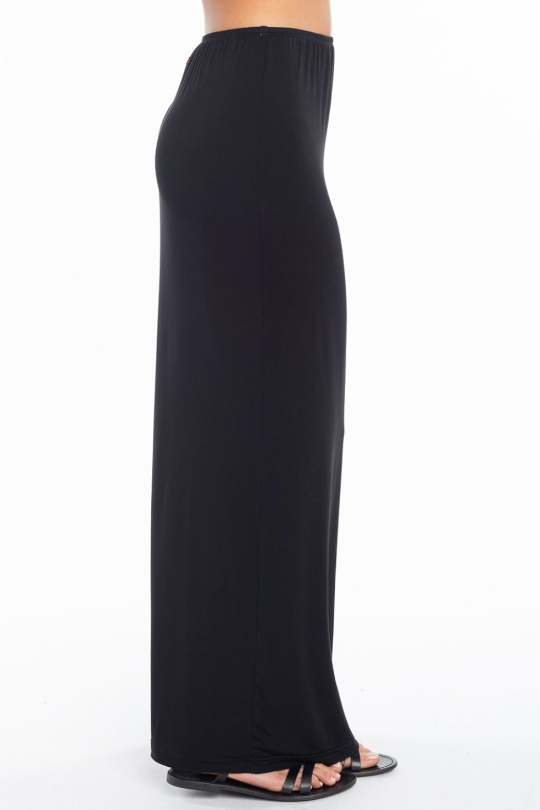 Hard Tail Hardtail Modal Maxi Skirt SIR-12 - Side Cropped Image