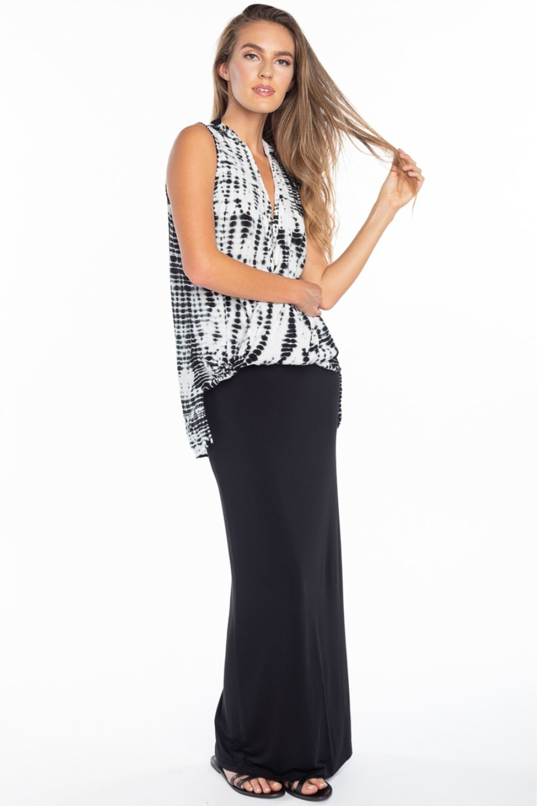 Hard Tail Hardtail Modal Maxi Skirt SIR-12 - Main Image