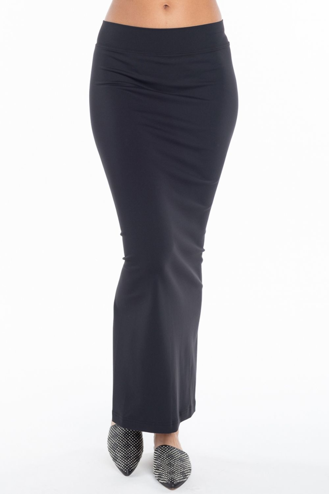 Hard Tail Hardtail Pencil Skirt SUP-19 - Side Cropped Image