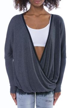 Shoptiques Product: Faux Wrap Sweater