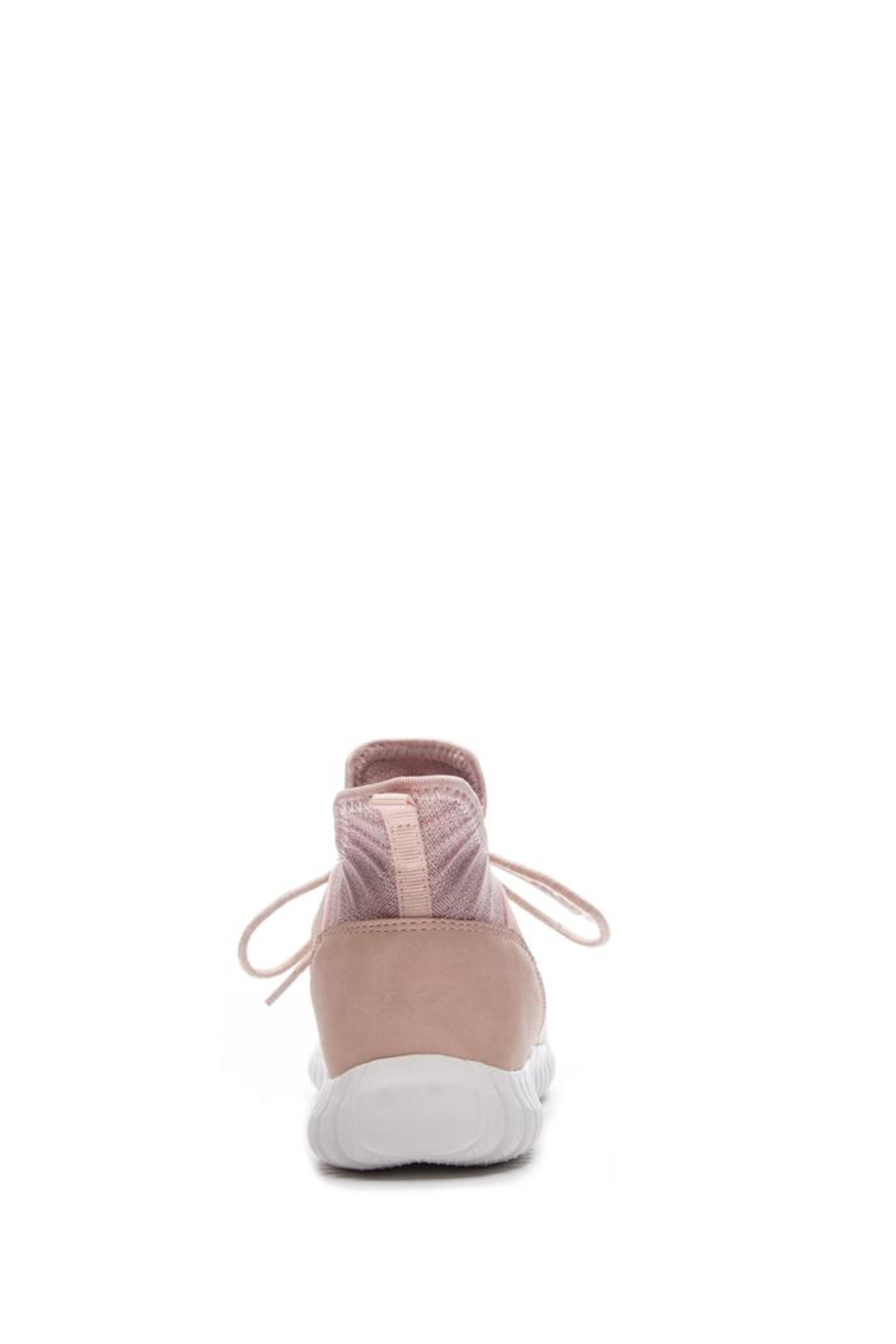 Dirty Laundry Harlen Blush Sneaker - Back Cropped Image