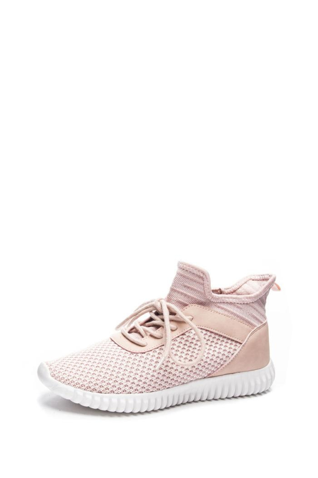 Dirty Laundry Harlen Blush Sneaker - Front Cropped Image