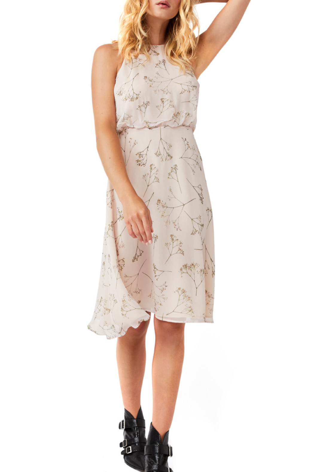AS by DF HARLOW FIT AND FLARE DRESS - Main Image
