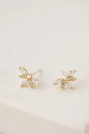 Lovers Tempo  Harlowe Stud Earrings - Front cropped