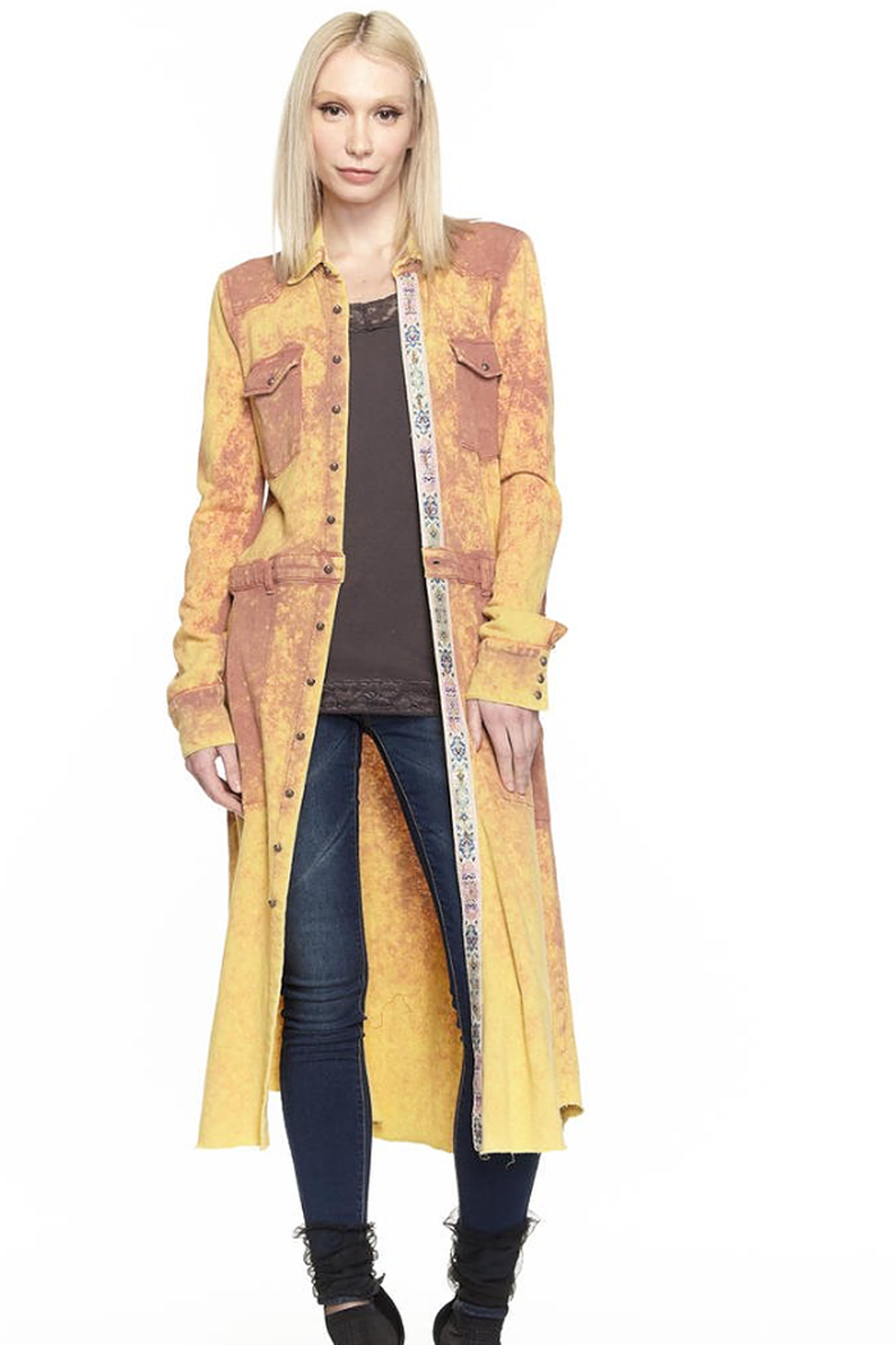 Aratta Harmony Trench Coat - Main Image