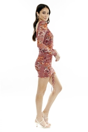 4SI3NNA Harper Floral Mesh Dress - Product Mini Image