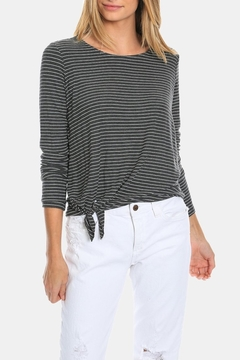 Dylan by True Grit Harper Top With Tie - Product List Image