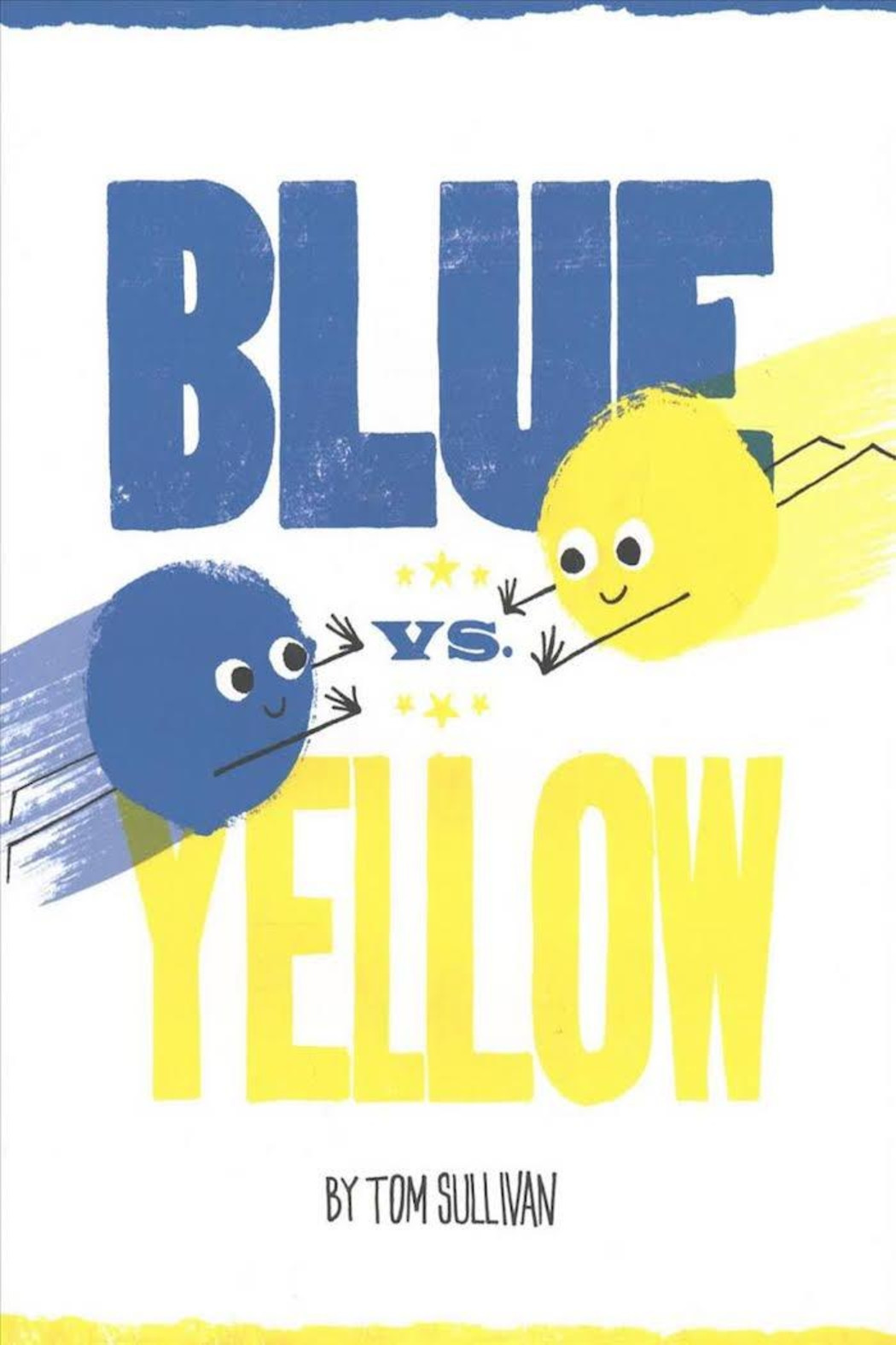 Harper Collins Publishers Blue Vs. Yellow - Front Cropped Image