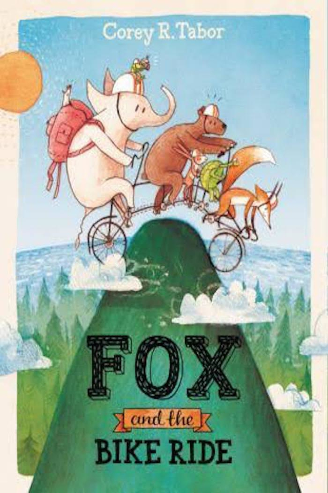 Harper Collins Publishers Fox & Bike Ride - Front Cropped Image