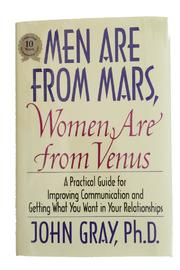 Harper Collins Publishers Mars & Venus Book - Front cropped