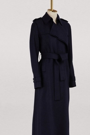 Harris Wharf London Dark Navy Coat - Product Mini Image