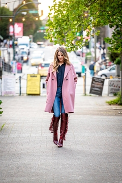 Harris Wharf London Old Rose Coat - Product List Image
