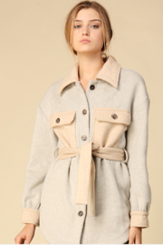 Line & Dot Harrison Belted Jacket - Product Mini Image