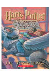 Scholastic Harry Potter and the Prisoner of Azkaban - Front cropped