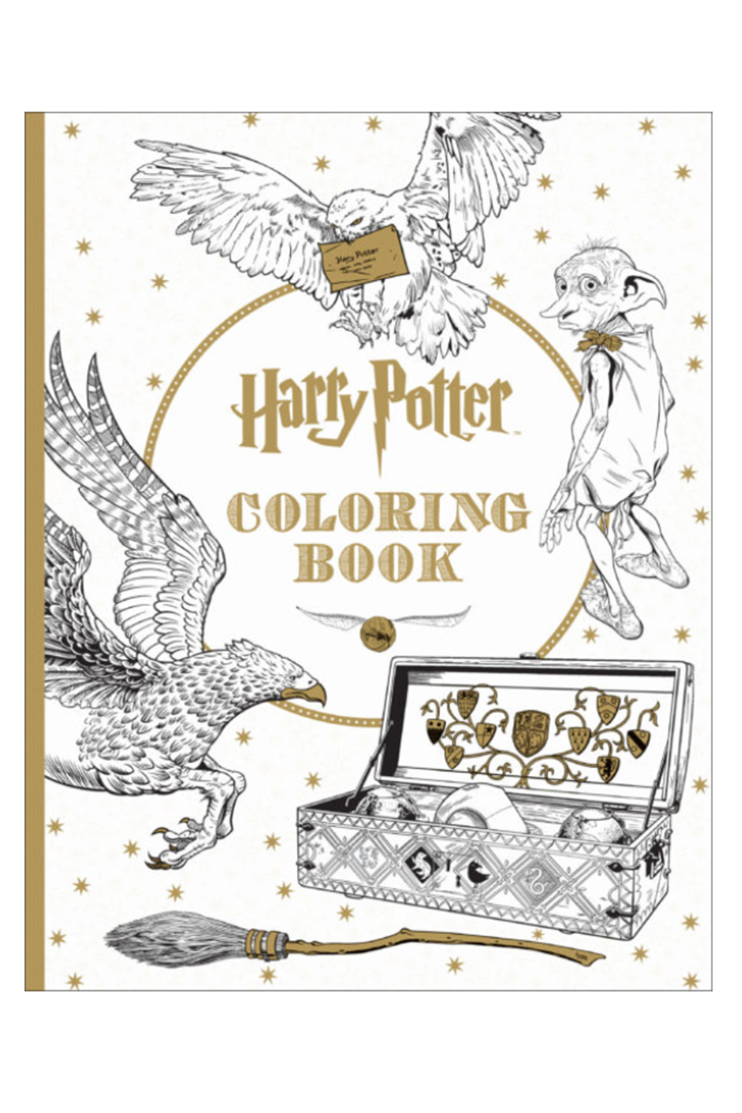 Scholastic Harry Potter Coloring Book - Main Image