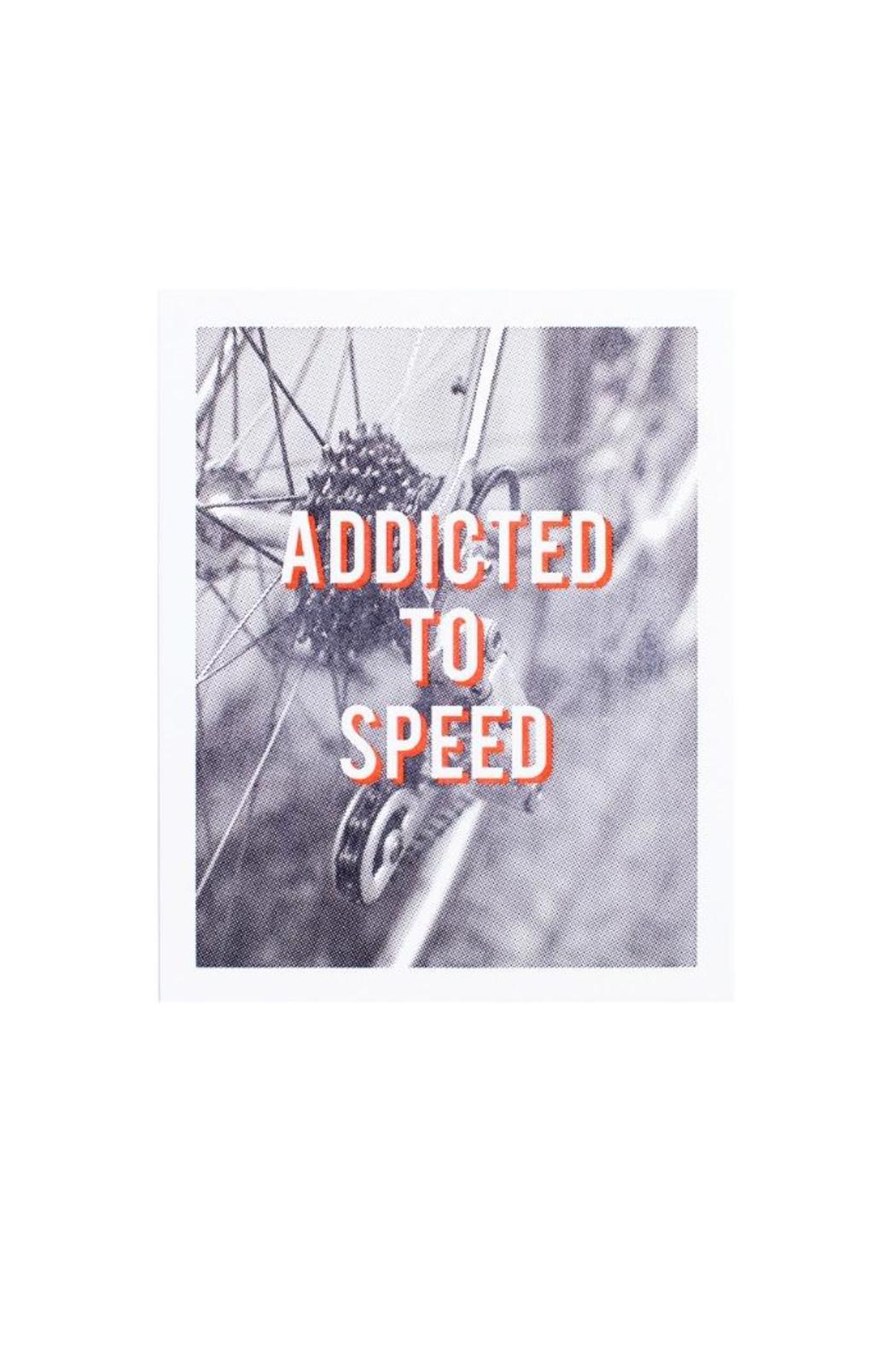 Hartford Prints Speed Addict Print - Front Cropped Image