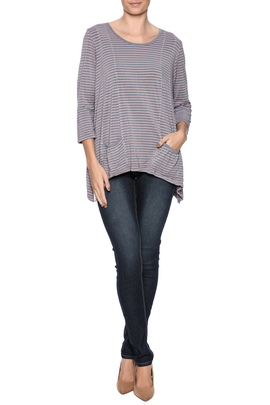 hartstrings tonal stripe top from cambria by new moon