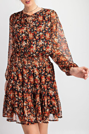 easel  Harvest Floral Dress - Product Mini Image