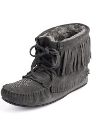 Manitobah Mukluks Harvester Suede Moccasin - Product Mini Image