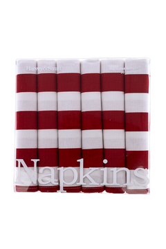 Shoptiques Product: Stripe Dinner Napkins