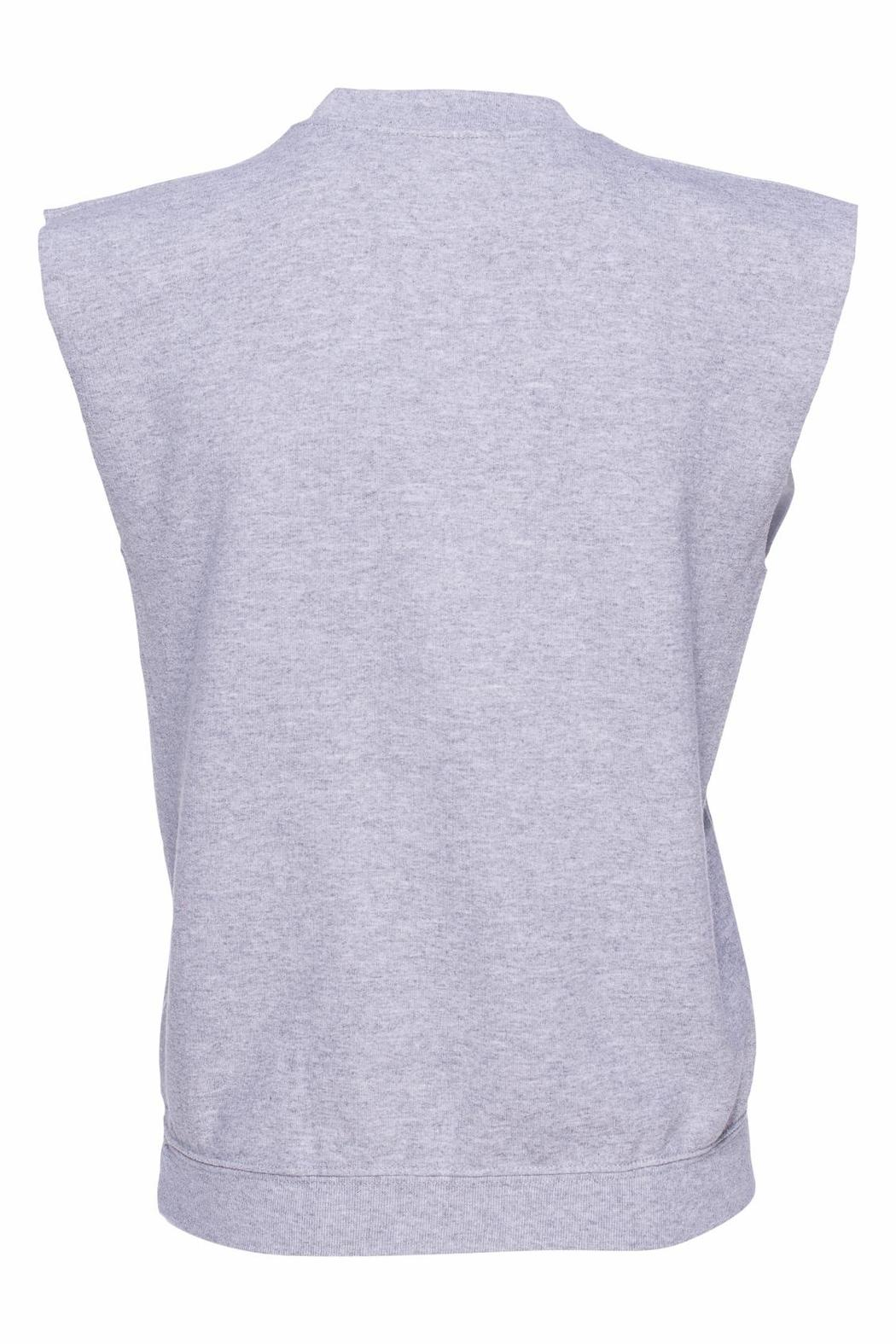 Harvey Faircloth Bodega Sleeveless Sweatshirt - Front Full Image