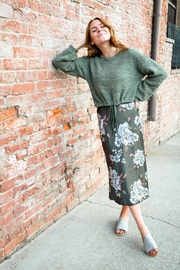 Hashtag Floral Green Skirt - Product Mini Image