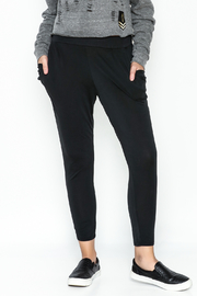 Hashtag Black Jersey Pants - Product Mini Image