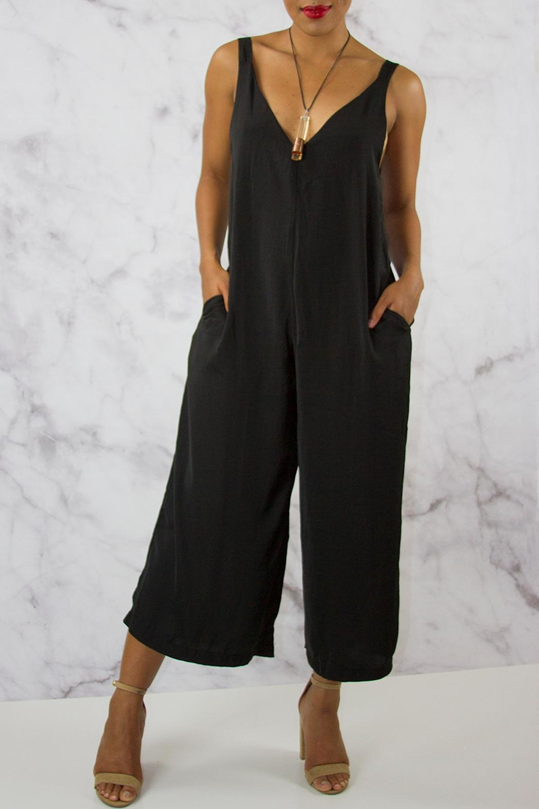 40ca882ce046 Hashtag Tees Midi Culotte Jumpsuit from Los Angeles by Snatched ...
