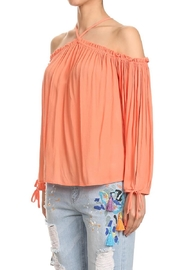 Hashttag Boho Off-Shoulder Top - Product Mini Image