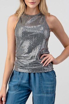 Hashttag Metallic Tank - Product List Image