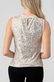 Hashttag Sequin Tank - Side cropped