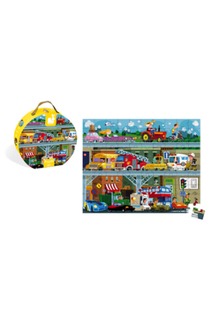 Janod Hat Boxed 100 Piece Vehicle Puzzle - Product List Image