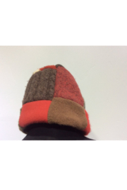 DiJore Hat ~ Handmade Sweater Patchwork Hat / Beanie - Product Mini Image