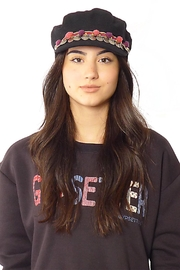 Gypsetters Hat Pompon - Side cropped