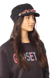 Gypsetters Hat Pompon - Back cropped