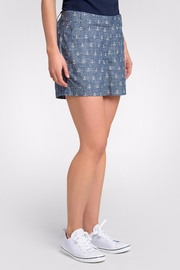 Hatley Anchor Cotton Shorts - Front cropped