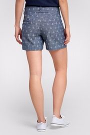 Hatley Anchor Cotton Shorts - Front full body
