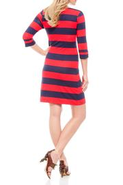 Shoptiques Product: Aztec Stripe Dress - Front full body